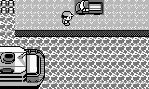 Fragen wie: Ernsthaft, was macht dieser Truck in Pokémon Rot & Blau!?