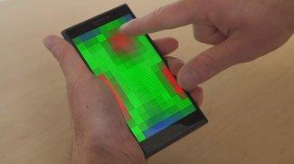 Microsoft Pre-Touch: Display erkennt Gesten ohne Berührung