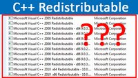 Warum ist so oft Microsoft Visual C++ Redistributable installiert?