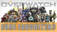Overwatch: Mit welchen Helden spielst du am liebsten?