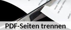 PDF: Einzelne Seiten trennen (kostenlos & online) – so geht's