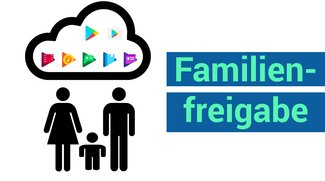 Google Play Store erhält Familienfreigabe: Gekaufte Apps und Spiele mit Familienmitgliedern teilen