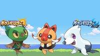 Pokémon Sonne und Mond: Das sind nicht die neuen Starter – leider