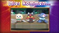 Pokémon Sonne & Mond: Die Starter-Pokémon sind Bauz, Flamiau und Robball