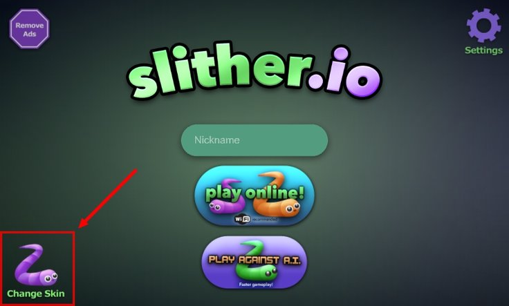 Slither.io Skins Android iOS App