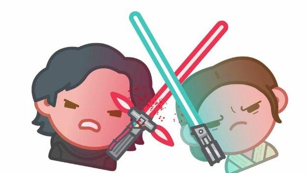 Star Wars 7 als Emoji-Video: So niedlich sehen Rey und Co. in der Emoji-Variante aus