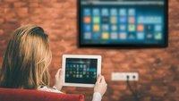 Tablet mit Fernseher, Beamer & Co. verbinden - So geht's