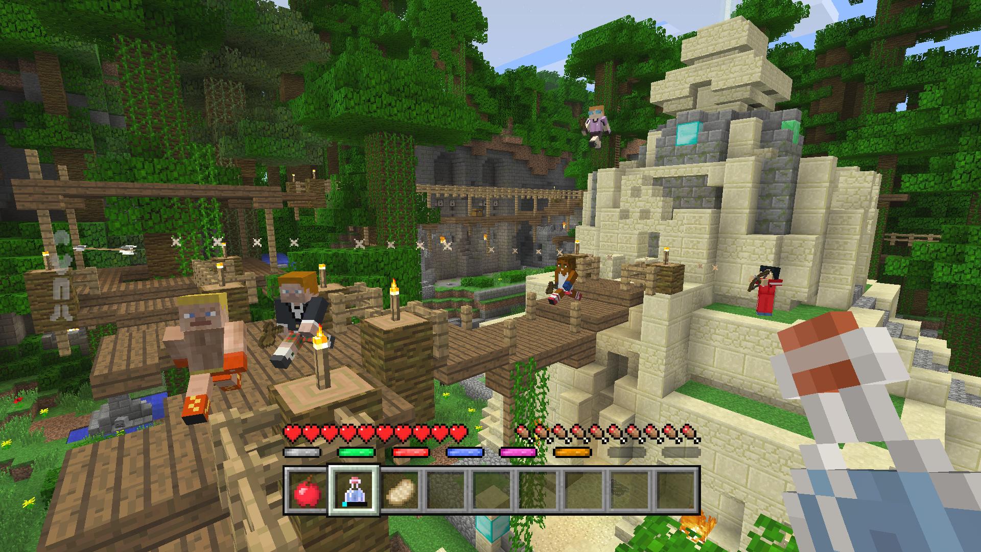Minecraft Battle Minigame Der Neue HungerGamesModus Im Detail GIGA - Minecraft ps4 minispiele