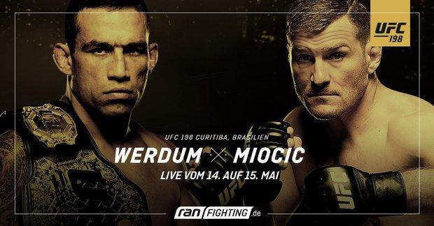 UFC 198 im Live-Stream: Werdum vs. Miocic heute in Deutschland online sehen