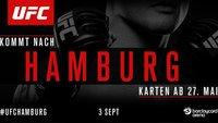 UFC 2016 in Hamburg – Ticket-Vorverkauf für Event am 3. September gestartet!