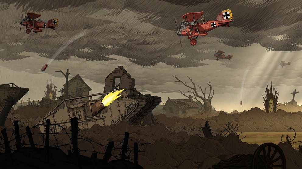 Screenshot aus Valiant Hearts: The Great War von Ubisoft