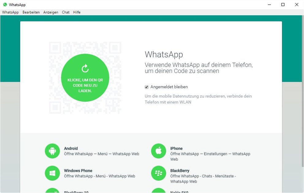 Whatsapp-desktop-Windows-anmelden