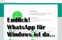 WhatsApp für Windows PC...