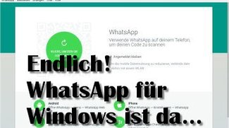 WhatsApp für Windows PC Download 64 + 32 Bit