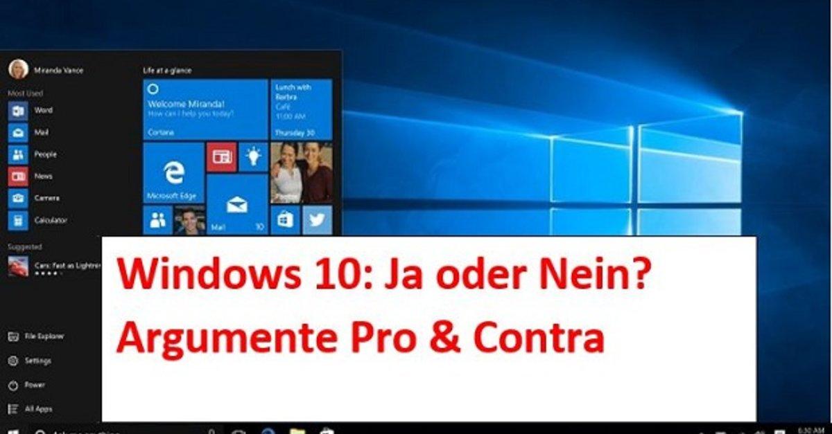 Geschirrspülmaschine Ja Oder Nein = windows 10 – ja oder nein 2016 umsteigen oder warten? – giga