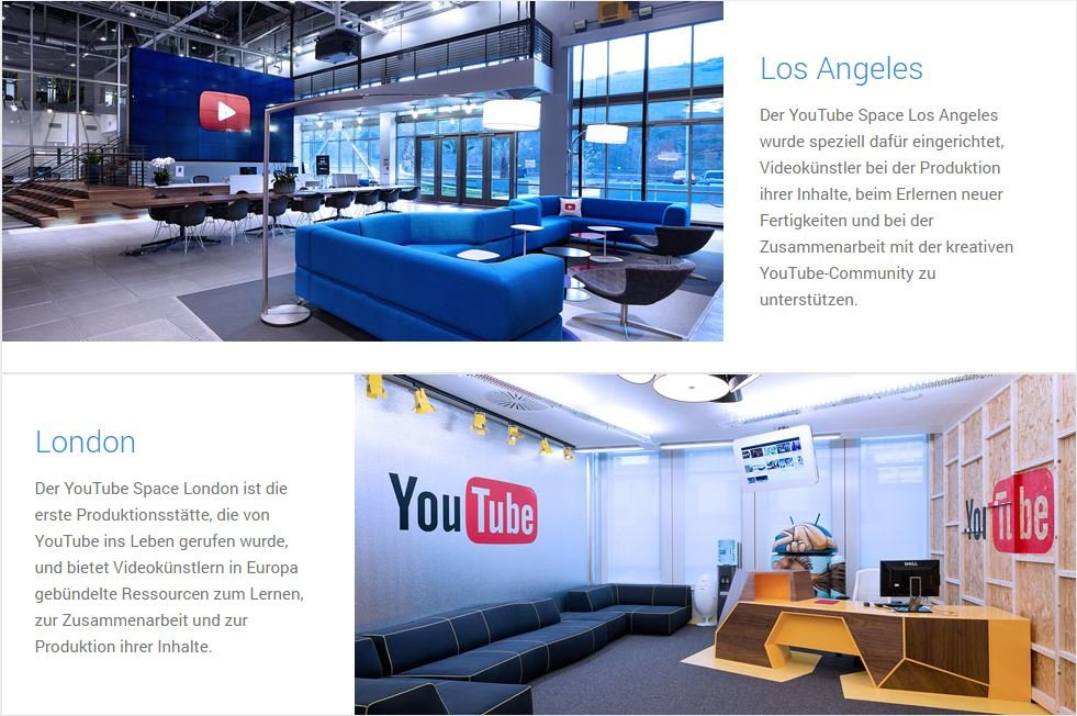 YouTube-Space-Studios