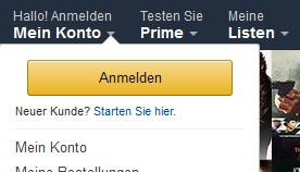 AMAZON DOWNLOAD KONTO