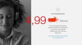 Apple Music ab sofort mit Studentenrabatt: Apple gewährt 50 Prozent Nachlass