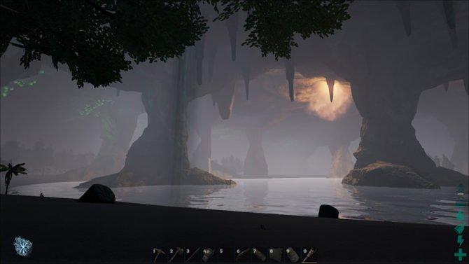"""Der Untergrund in """"The Center"""" besitzt sogar eine eigene Sonne."""