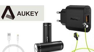 Aukey: Bis zu 50 Prozent auf Bluetooth-Kopfhörer, Powerbanks und Co. sparen