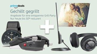 Blitzangebote: Prime-Grill-Deals + ultradünner Monitor, Präzisionsmaus, BT-Headset, Braun-Uhr u.v.m. günstiger