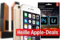 Blitzangebote und CyberSale: iPhone 6 mit 64GB zum Bestpreis (599 €) + Photoshop CC, Heimkinosystem u.v.m. günstiger