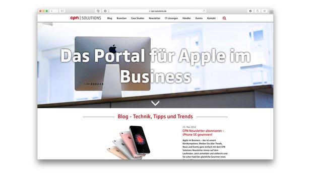 CPN Solutions: Neues Portal mit 100 Business-Fallstudien aus der Apple-Welt