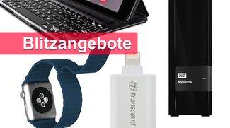 Blitzangebote: Lightning-USB-Stick, Apple-Watch-Armband u.v.m. heute günstiger