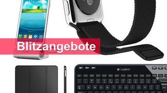 Blitzangebote: Milanaise-Armband, Smartphone-Dock, Wireless-Tastatur u.v.m. heute günstiger
