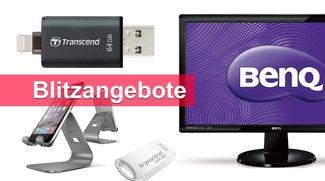 Blitzangebote: Lightning-USB-Stick, LED-Monitor, iPhone-Ständer u.v.m. heute günstiger