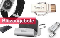 Blitzangebote:<b> Apple-Watch-Armband, Belkin-Dock, USB-OTG-Sticks u.v.m. heute günstiger</b></b>