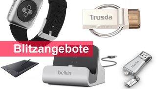 Blitzangebote: Apple-Watch-Armband, Belkin-Dock, USB-OTG-Sticks u.v.m. heute günstiger