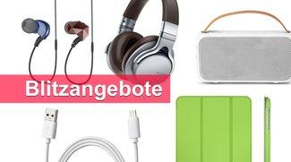 Blitzangebote: Lightning-Kabel, Sony-Kopfhörer und mehr heute günstiger