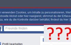 Facebook: Wir verwenden...