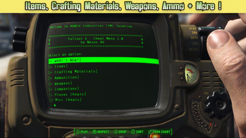 Fallout-4-Mods für die Xbox One -