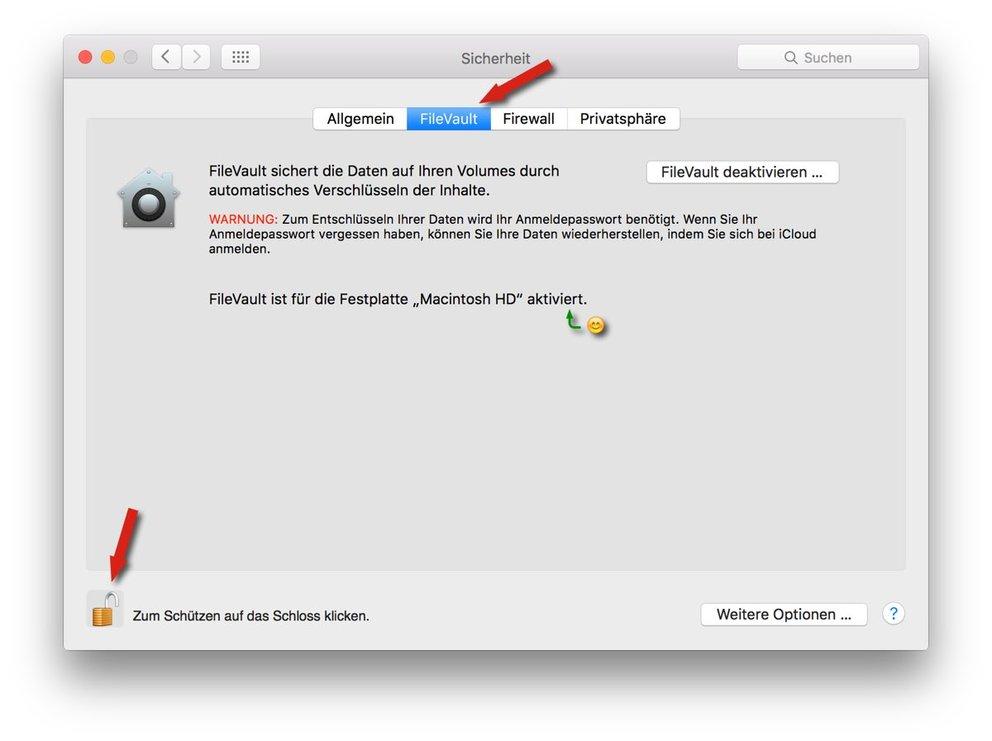 filevault-mac-einstellungen-verschlusselung