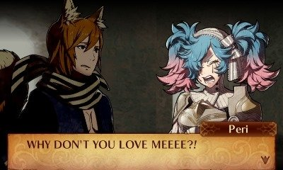 Beziehungsstress in Fire Emblem Fates.