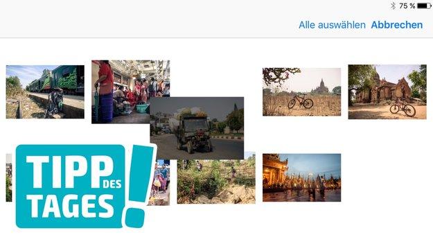 Trick: Reihenfolge von Fotos auf iPhone und iPad ändern
