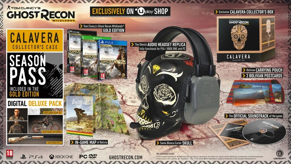 ghost-recon-wildlands-editionen