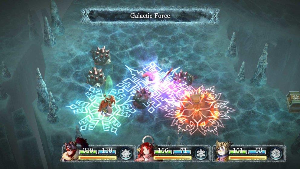 I am Setsuna: Freunde klassischer J-RPGs fühlen sich mit dem Kampfsystem sofort heimisch.