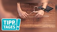 iPad-Ständer – in 30 Sekunden selbst gebastelt
