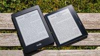 Kindle Vergleich: Die Unterschiede bei Amazons E-Readern