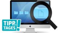 Leistungsfähige Mac-Suche: Systemdateien, Exif-Daten, Größe, Etikettenfarbe u.v.m. filtern