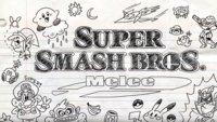 Das Intro zu Super Smash Bros. Melee ist gezeichnet noch geiler als das Original
