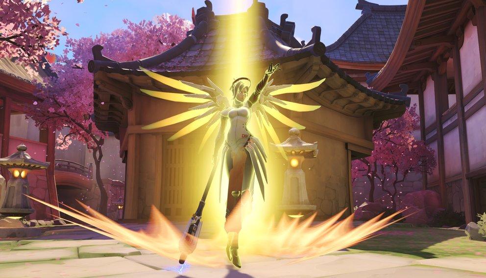 Euer Schutzengel in der Not: Mercy.