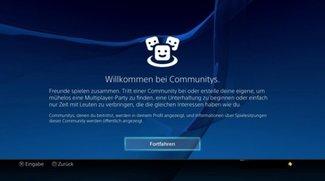 PlayStation 4 Community erstellen oder beitreten - so geht's