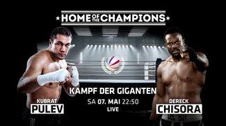 Boxen Live-Stream und im TV: Pulev vs. Chisora heute live verfolgen