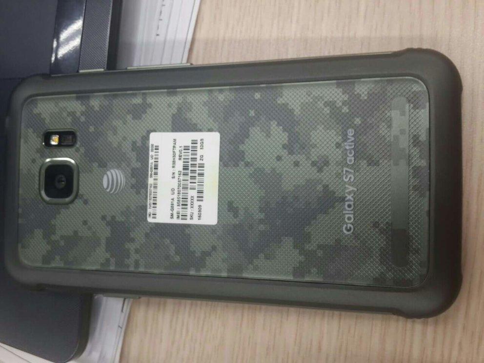 Galaxy S7 Active: Samsungs Outdoor-Flaggschiff erstmals auf Fotos zu sehen