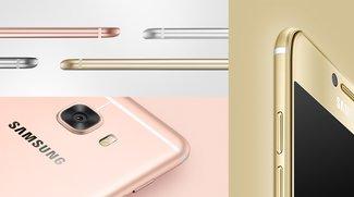 Galaxy C5 und Galaxy C7 vorgestellt: Samsungs neue Mittelklasse kommt im iPhone-Look