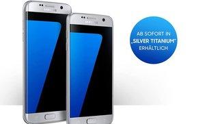 Samsung Galaxy S7 (edge) ab sofort auch in Silber erhältlich